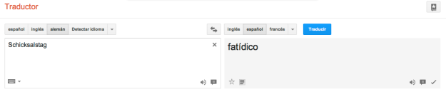 Dice el traductor de Google...