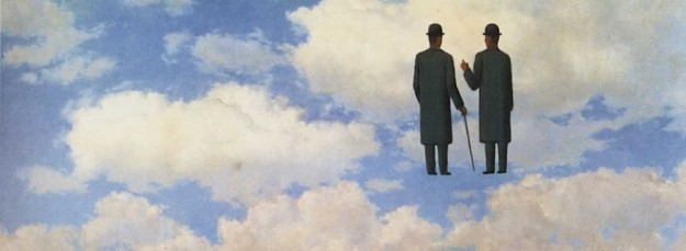 The infinite recognition - René Magritte - 1.963 (detalle)