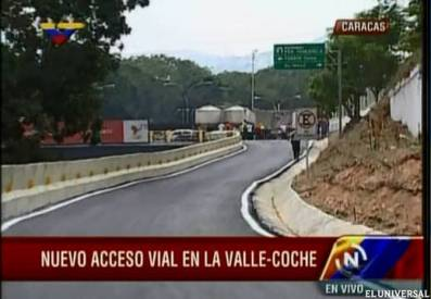 Acceso vial Valle Coche